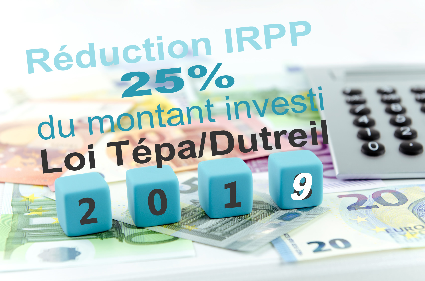 reduction impot direct Tepa-Dutreil 25%